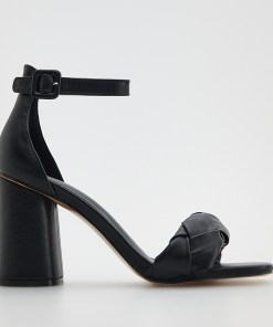 Reserved - Sandale cu toc înalt - Negru