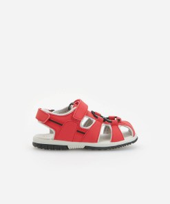 Reserved - Sandale în stil sportiv - Roșu