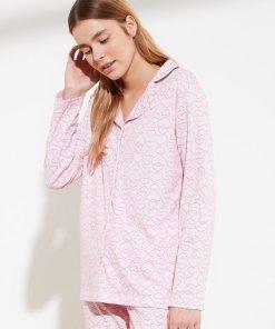 Pijama lejera cu inimi 3452458