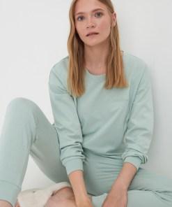 Sinsay - Pijama pentru femei - Verde