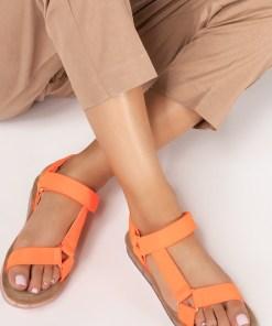 Sandale dama Udine Portocalii