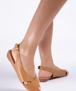 Sandale dama Velda Camel