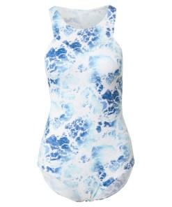 SLOGGI Costum de baie întreg 'Shore Yap Islands'  turcoaz / alb / albastru