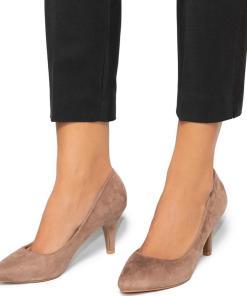 Pantofi dama Dafni, Bej