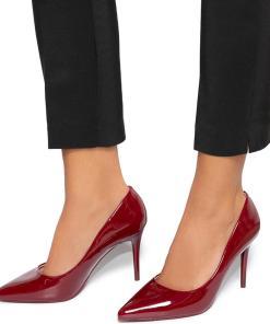 Pantofi dama Filippa, Visiniu