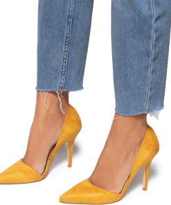 Pantofi dama Maire, Galben