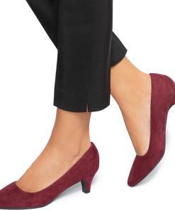 Pantofi dama Natassa, Visiniu