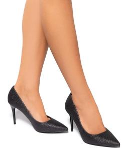 Pantofi dama Nikoleta, Negru