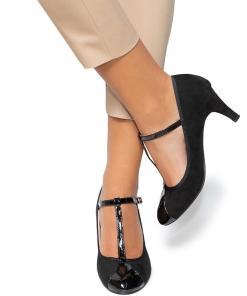Pantofi dama Petra, Negru