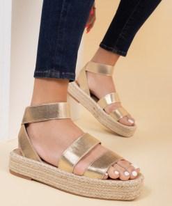 Sandale dama Maretta Aurii