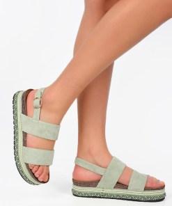 Sandale dama Tiana Verzi