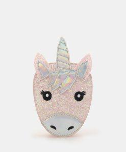 Sinsay - Gentuță în formă de unicorn - Roz