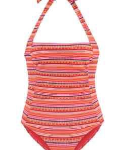 LASCANA Costum de baie modelator  portocaliu / mai multe culori