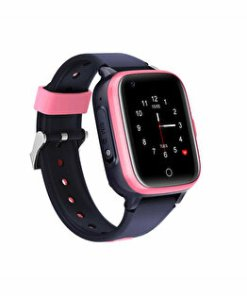 Ceas Smartwatch TND Wear Goofy, 4G, pentru copii, GPS, WiFi, foto, telefon, rezistent la apa, touchscreen, roz