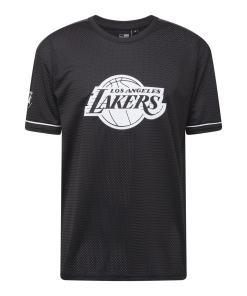 NEW ERA Tricou  negru / alb