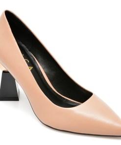 Pantofi EPICA bej, 1843704, din piele naturala