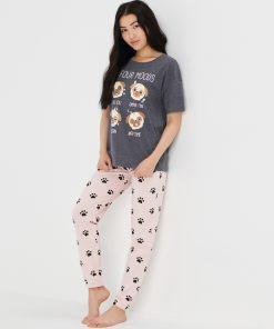 Sinsay - Ladies` pyjama - Gri