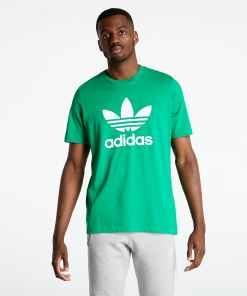 adidas Trefoil T-Shirt Green/ White