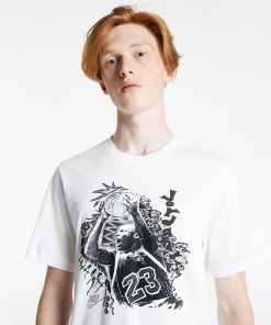 Jordan Vintage Men's Graphic T-Shirt White
