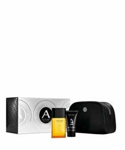 Set cadou Azzaro Pour Homme (Apa de toaleta 50 ml + Gel de dus 50 ml + Geanta cosmetice), pentru barbati