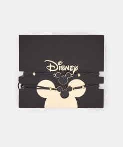 Sinsay - Set de 2 brățări Mickey Mouse - Negru