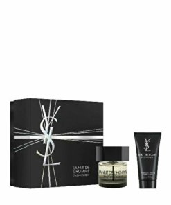 Set cadou Yves Saint Laurent La Nuit de L'Homme (Apa de toaleta 60 ml + Gel de dus 50 ml), pentru barbati