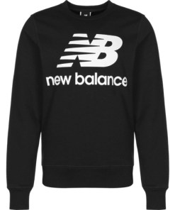 Bluza barbati New Balance Essentials Stacked Logo Crew MT03560BK