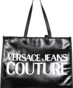 Versace Jeans Couture Tote Bag With Logo 71VA4BW1_ZG030L01 BLACK