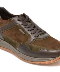 Pantofi STONEFLY maro, EDWARD6, din piele naturala