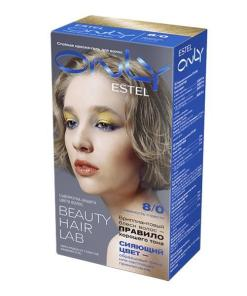 Vopsea-gel permanenta pentru par Estel Only, 8/0 Blond inchis, 100 ml