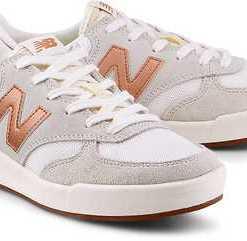 Tennis-Sneaker 300 von New Balance in weiß für Damen. Gr. 37,40.5