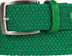 Alberto Golf Gürtel Basic Braided 01008330/650