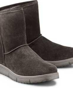 Winter-Boots von Legero in grau für Damen. Gr. 36 2/3,37 1/3,38,38 2/3,39 1/3,40,40 2/3,41 1/3,42