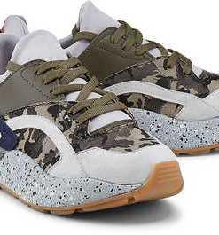 Trend-Sneaker von Another A in khaki für Damen. Gr. 37,38,39,40,41