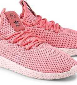 Sneaker Pw Tennis Hu von Adidas Originals in pink für Damen. Gr. 37 1/3,38,41 1/3