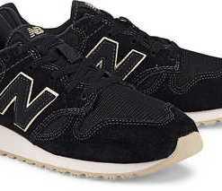 Retro-Sneaker 520 von New Balance in schwarz für Damen. Gr. 37