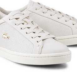 Sneaker Straightset von Lacoste in weiß für Damen. Gr. 39