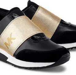 Sneaker Mk Trainer von Michael Kors in schwarz für Damen. Gr. 36