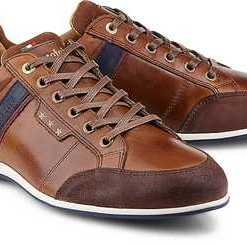 Sneaker Roma Uomo Low von Pantofola d'Oro in braun für Herren. Gr. 41,43,45