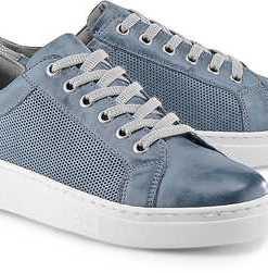 Trend-Sneaker von Drievholt in blau für Damen. Gr. 37