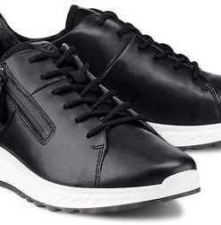 Sneaker St1 von Ecco in schwarz für Damen. Gr. 38,39,40,41