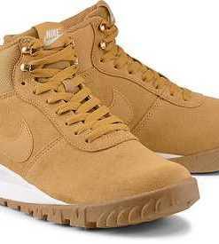 Boots Hoodland Suede von Nike in ocker für Herren. Gr. 40 1/2,41,42,42 1/2,43,43 1/2,44 1/2,45,45 1/2,46,47 1/2
