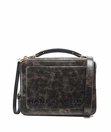 Marc Jacobs Damen The Box Bag Schwarz