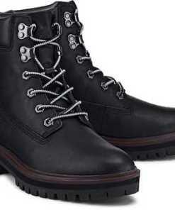 Boots London Square von Timberland in schwarz für Damen. Gr. 37,37 1/2,38,38 1/2,39,39 1/2,40,41,41 1/2,42 1/2