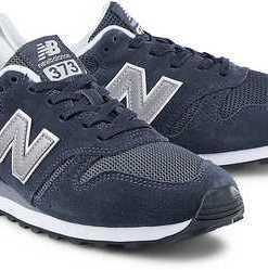 Retro-Sneaker 373 von New Balance in blau für Herren. Gr. 42,42 1/2,43,44,45,45 1/2