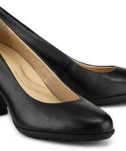 Plateau-Pumps Annya von Geox in schwarz für Damen. Gr. 37,39,39.5,40,41