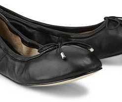 Stretch-Ballerina von Buffalo in schwarz für Damen. Gr. 36,37,38