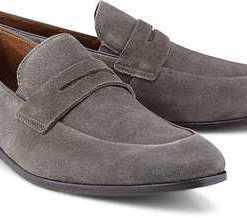 Penny-Loafer von Cox in grau für Herren. Gr. 46