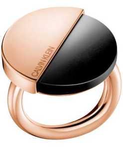 Calvin Klein RING SPICY PVDPNK PO BLK ONYX KJ8RBR140106 Damenring
