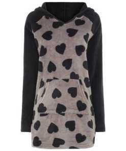Damen Kleid aus Fleece